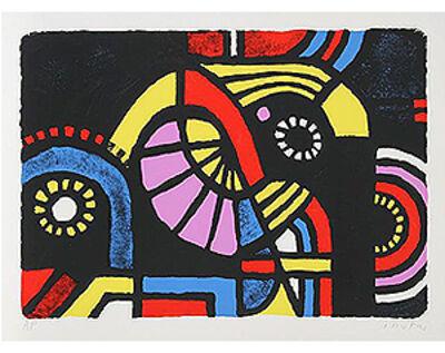 Kyohei Inukai (1913-1985), 'Coney Island   ( limited time $150.00 )', 1979