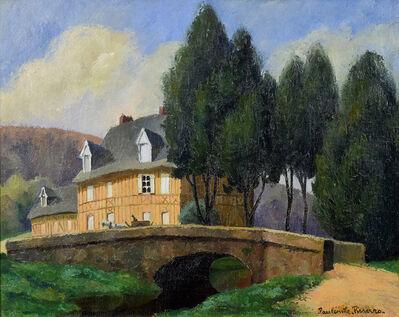 Paulémile Pissarro, 'La Maison Normande au Bord du Ruisseau', 20th century