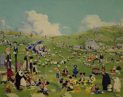 Zhang Gong, 'Sunday on the Lawn', 2011