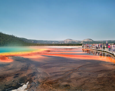 Matthew Pillsbury, 'Grand Prismatic Spring, Yellowstone Park', 2017