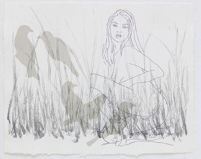 Ghada Amer & Reza Farkhondeh, 'Bird Herder', 2008