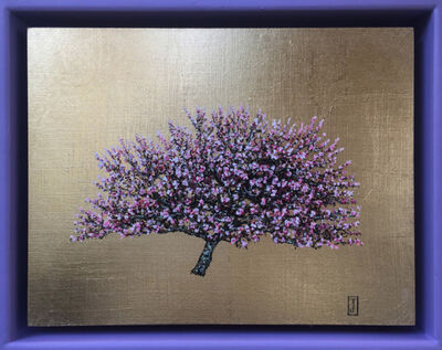 Jack Frame, 'Blooming Collection : Cherry Blossom in Violet Frame ', 2018