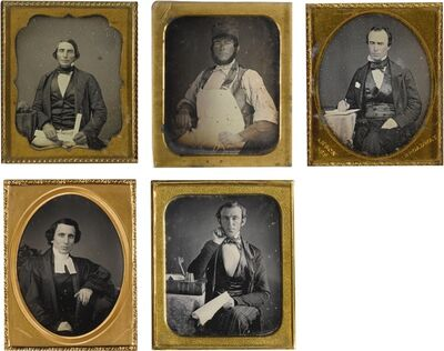 Rufus Anson, 'Selected Occupational Portraits'