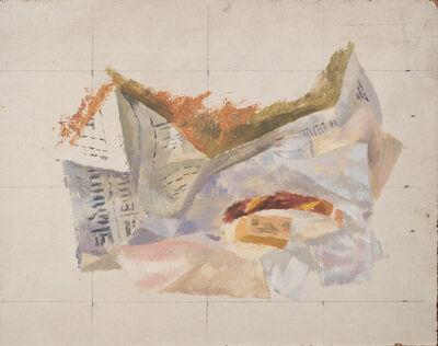 Reginald Brill, 'Study for The Rest', 1956