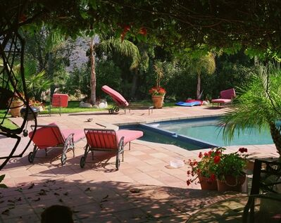 Larry Sultan, 'Pool, Calabasas from the series, The Valley', 2002