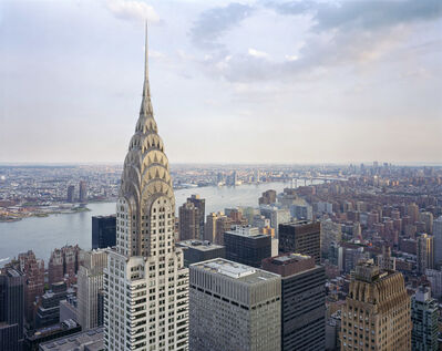 David Leventi, 'View of the Chrysler Building from the Metlife Building Helipad, No.2, 405 Lexington Avenue, New York, New York', 2019