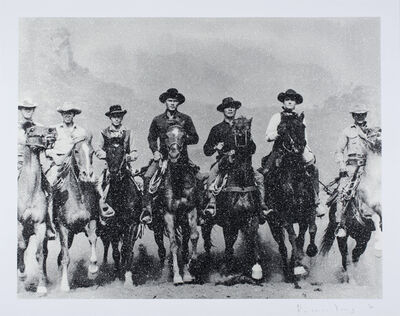 Russell Young, 'Magnificent Seven ', 2017