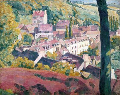 Émile Bernard, 'Pont-Aven Seen From the Bois D'Amour', 1892