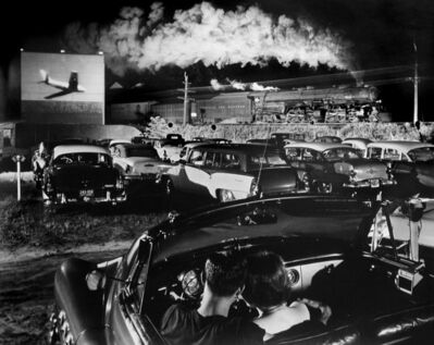O. Winston Link, 'Hot Shot Eastbound, Iaeger, West Virginia', 1957