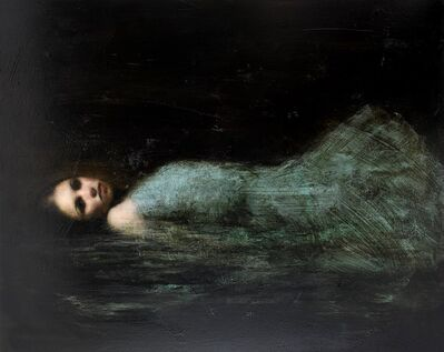 Mark Demsteader (b.1963), 'By The Riverbank'