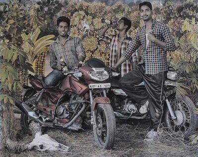Waswo X Waswo, 'Bike Boys', 2015