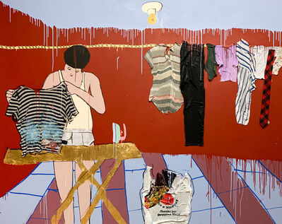 Hermes Berrio, 'Alexa, do the laundry', 2020