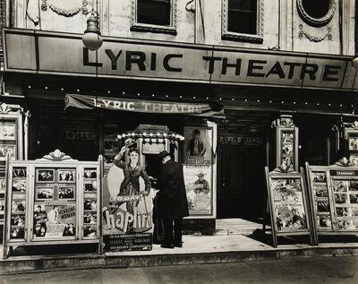 Berenice Abbott, 'Lyric Theater, 100 Third Avenue', 1936