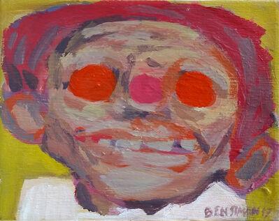 Ben Simon, 'Head with Pink Nose', 2017