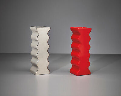 Ettore Sottsass, 'Two vases, model no. 629, from the 'Onde' series', ca. 1969