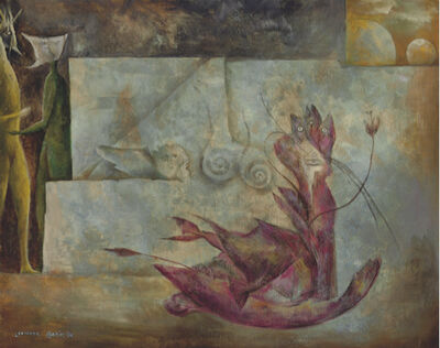 Leonora Carrington, 'El gato', 1951