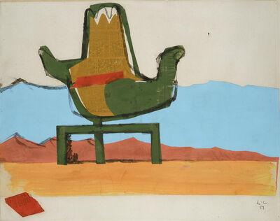Le Corbusier, 'Chandigarh, la Main ouverte', 1951