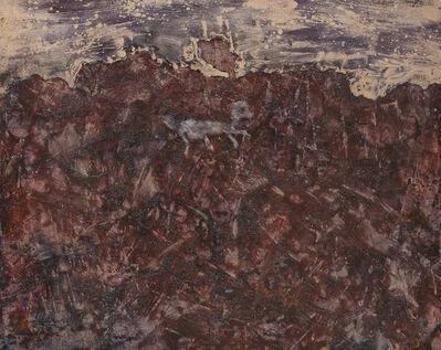 Jean Dubuffet, 'Paysage au chien bleu', 1952
