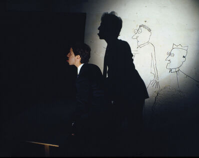 Clegg & Guttmann, 'Now that he started he will never stop', 1983