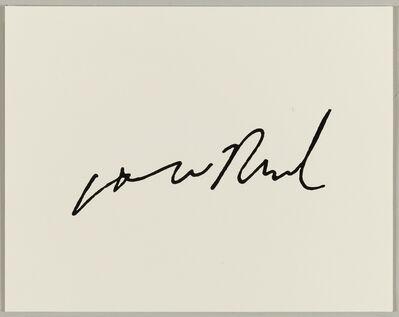 Nils Karsten, 'Lou Reed', 2014