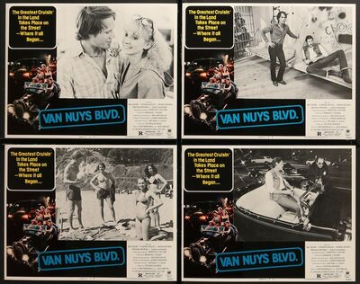 Anon, 'VAN NUYS BLVD. 8 Lobby Cards 1979 sexy teens cruising Los Angeles streets in hot rods, hippies, street racers', 1979