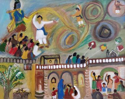Pandit Birju Maharaj Brijmohan Mishra, 'Untitled', 1993