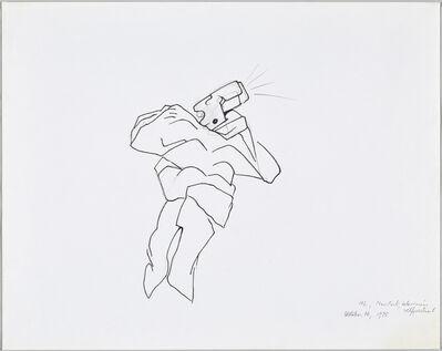 Maria Lassnig, 'Television Selfportrait', 1975