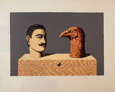 René Magritte, 'Les Enfants Trouves, Heads', 1968