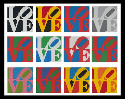 Robert Indiana, 'The Complete Portfolio, Book of LOVE', 1996