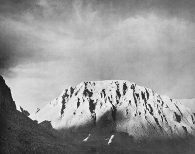 Ansel Adams, 'Mount Whitney from Above Crabtree Meadow', 1939