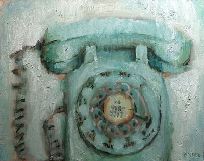 Bradford J. Salamon, 'Green Phone', 2020
