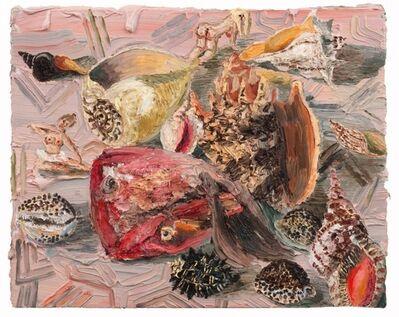 Allison Schulnik, 'Pink Fish Head', 2012