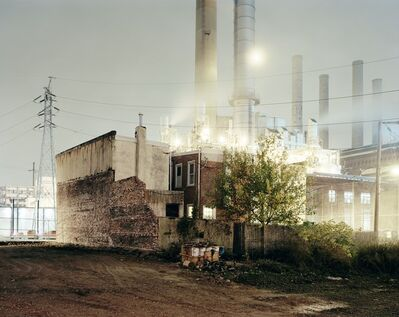 Will Steacy, 'Power Plant, Philadelphia, from the series Down these Mean Streets', 2008