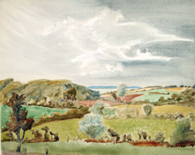 Erich Heckel, 'Landschaft in Schleswig', 1939