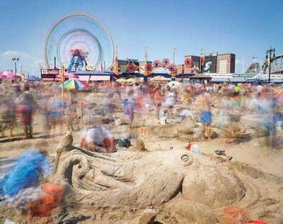 Matthew Pillsbury, 'Sandcastle Competition, Coney Island', 2015-printed 2018