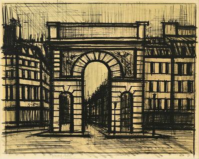 Bernard Buffet, 'La Porte Saint-Martin', 1962