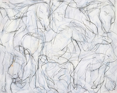 Heidi Lanino, 'Horse Fair VI', 2017