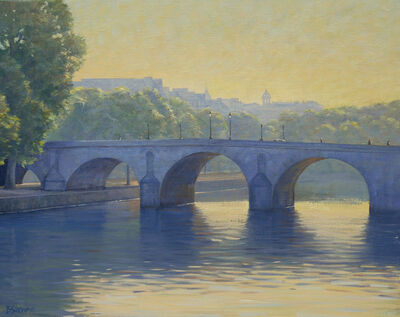 Bradley Stevens, 'Morning on the Seine'