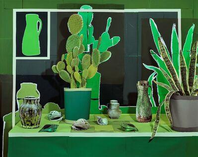 Daniel Gordon, 'Still Life with Succulents and Sea Shells', 2019