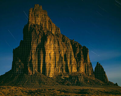 """Jim Sanborn, 'Shiprock, New Mexico """"Topographic Projections"""" Ed. 10', N/A"""