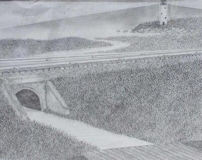 Mike Rivera, 'Guildford, CT. Fishing Bridge.', 2008
