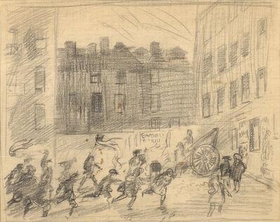 John Sloan, 'Bonfire', ca. 1915