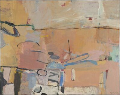 Richard Diebenkorn, 'Berkeley #3', 1953