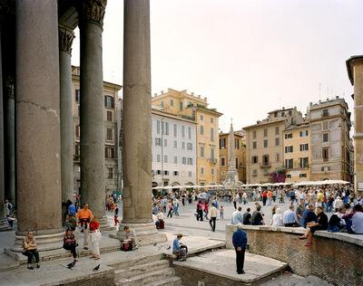 Doug Hall, 'Piazza dell Rotonda, Rome', 2002