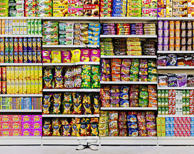 Liu Bolin, 'Hiding in the City – Puffed Food', 2011
