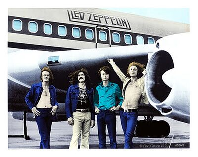Bob Gruen, 'Led Zeppelin - NYC - 1973', 2014
