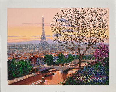 Kerry Hallam, 'Paris Sunset', 2002