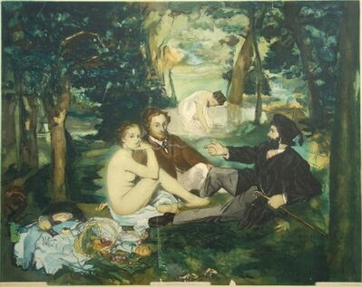 Édouard Manet, 'The Luncheon on the Grass, 1929', 1929