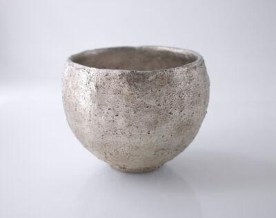 Yasushi Fujihira, 'Silver glazed tea bowl', 2019