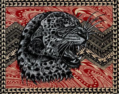 Dennis McNett, 'Kinetic Snow Leopard II ', 2014